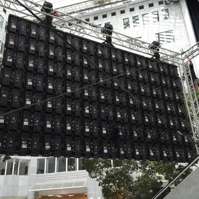 location écran LED extérieur